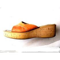 Sandalias, Chalas, Zapatos De Mujer N°39 100% Cuero