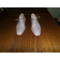 Zapato Cuero Suela Y Badana Del 39 Al 44