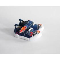 Zapatillas De Lona Marca Cutie Baby Nro 19. Nuevas