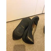 Zapatos 16 Horas Negro 100% Cuero (ex Azafata)