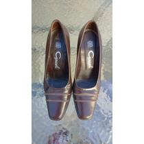 Zapatos De Mujer Cuero Gacel