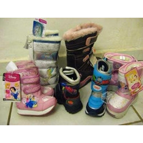 Botas Para La Nieve, Agua Y Frío Hombre, Mujer, Niño