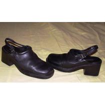 Zapatos Mujer Hush Puppies-nº 37 -negros -casi Nuevos