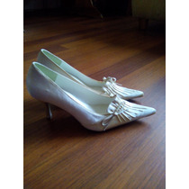 Bellos Zapatos Novia Satin!