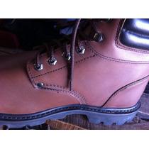 Zapatos De Seguridad 45 Café Cuero Nobuk Marca Le Coq.