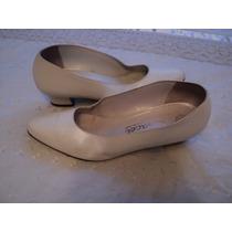 Zapatos Gacel De Cuero Numero 35-36 Un Día De Uso
