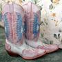 Botas Vaqueras 7 Leguas Puro Cuero Mujer 371/2