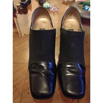 Zapatos Marca Gacel 100 % Cuero Talla 37
