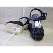 Zapato Negro Taco Alto Numero 40