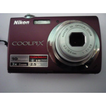 Camara Nikon Coolpix 10 M - 3x Zoom Optico