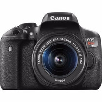 Canon Eos Rebel T6i Ef-s 18-55 Is Stm Kit,garantía 1 Año