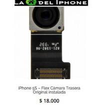 Iphone 5s Flex Cámara Trasera Original Instalada
