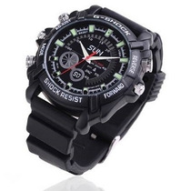 Reloj Espia Con Camara Vision Nocturna Full Hd 8gb 1080p