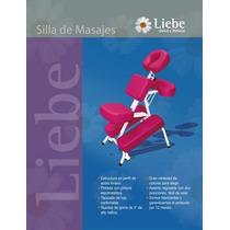 Oferta! Silla De Masajes Liebe + Pack De 100 Fundas Cabezal