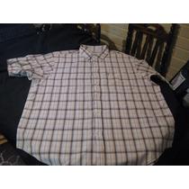 Camisa Sport Ralph Lauren Jeans Company Talla Xxl Manga Cort