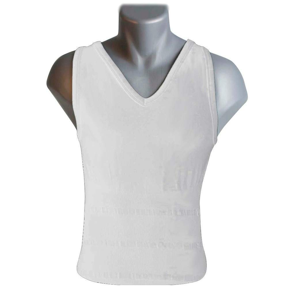 camiseta reductora hombre sin mangas tone tee