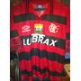 Camiseta Flamengo De Brasil Marca Umbro Talla L N10 Romario