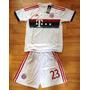 Camiseta Niño Bayern Munich #23 Vidal Talla 24 (8-9 Años)