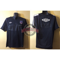 Camiseta Negra Entrenamiento Colo Colo, Marca Umbro, Talla M