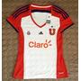 Camiseta Universidad De Chile Mujer Original Nueva