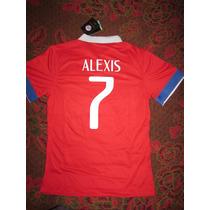 Camiseta Chile Alexis Sanchez 2016