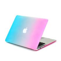 Carcasa Macbook Pro 13.3 Arcoiris Protector Lavable Mate