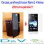 Carcasa Sony Ericsson Xperia Z + Lámina Protectora !!!