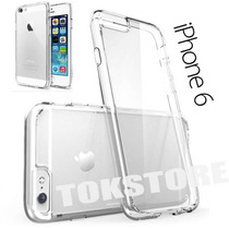 Carcasa Transparente Iphone 6 Plus + Lamina Antigrasa