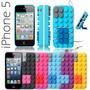 Carcasa Única Lego 3d Funcional Iphone 5/5s Colores