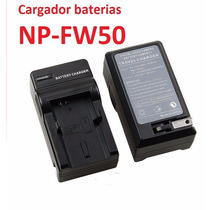 Cargador Bateria Np-fw50 Para Sony Nex Y Sony A37 A35 A33