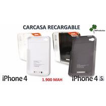 Carcasa Bateria Recargable Iphone 4 Y Iphone 4s, Mayor Carga