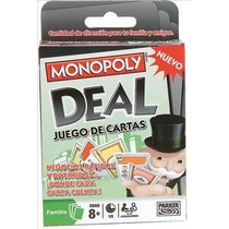 Juego De Cartas Monopoly Deal