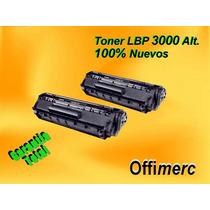 Toner Canon Lbp-3000 (103) 100% Nuevo Garantia Total