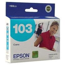 Tinta Epson 103 Nueva, Sellada, Original