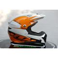 Casco Motocros Ktm-racing Personalizados A Pedido.