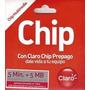 Barato!!! Chip Claro 5+5 Prepago 2016 Desde $ 250