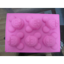 Moldes Silicona Mickey Mouse Cup Cakes,chocolates,etc