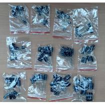 120 Condensadores Electrolítico, 12 Valores 1uf-470uf