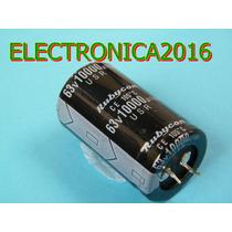 Condensador Electroliticor 10000uf 63v Power Amplificador