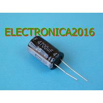 2x Condensador Electrolitico 4700uf 25v