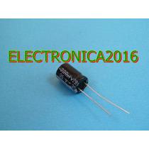 4x Condensador Electrolitico 220uf 25v