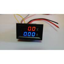 Amperimetro Y Voltimetro Digital De Panel 0-30 Vdc 50amp