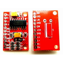 Arduino Tarjeta Mini Amplficador Audio 3w + 3w Power Usb