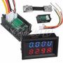 Voltimetro Y Amperimetro 100volts Dc 100amp Dc Con Shunts