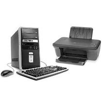 Kit Cpu Compaq Presario Sr1815la + Multifuncional Hp (nuevo)