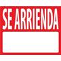 Letrero Se Arrienda / Se Vende 40 X 50 Cm X 0.5 Mm