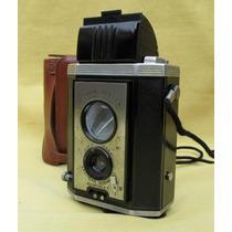 Camara Brownie Reflex 1940 Ee. Uu, Con Estuche Original