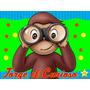 Jorge El Curioso Invitación Cotillón Cumpleaños Imprimible