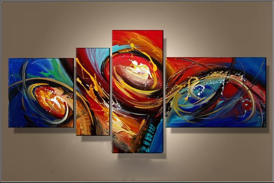 Cuadros abstractos modernos coloridos imagui for Imagenes cuadros abstractos modernos