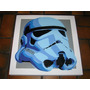 Cuadro Pop Art Stormtrooper Star Wars Acrilico En Madera